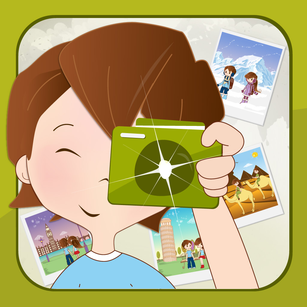 QuizPic – Guess the Word Behind the Pics app icon